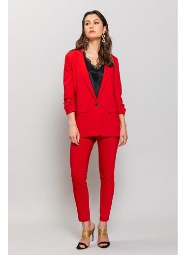 Ashleys Ceket Kırmızı